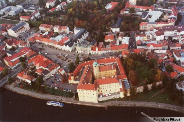 Чехия, Подебрады - панорама города