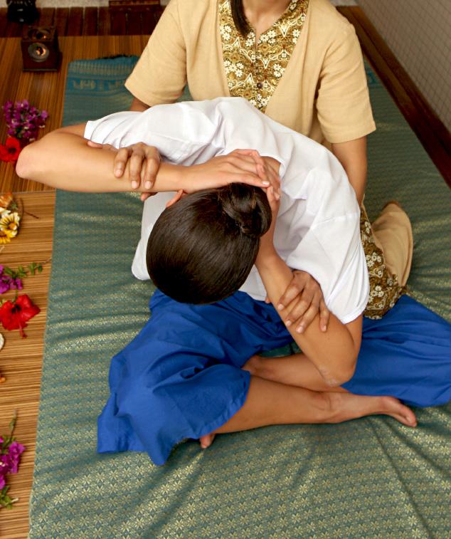 видео уроки массажа головы